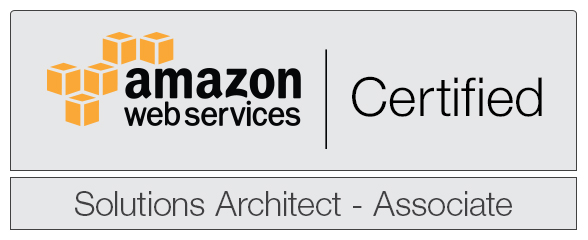 Just become an AWS Certified Solutions Architect – Associate